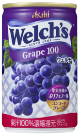 「Welch's」コンコードグレープ 缶160g